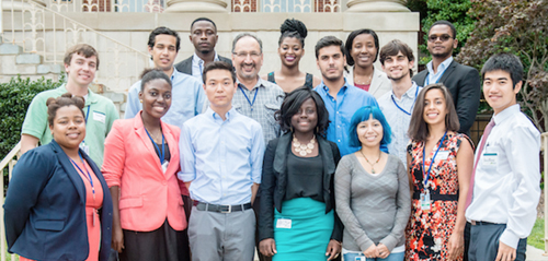Image of UGSP Scholars in Summer 2014